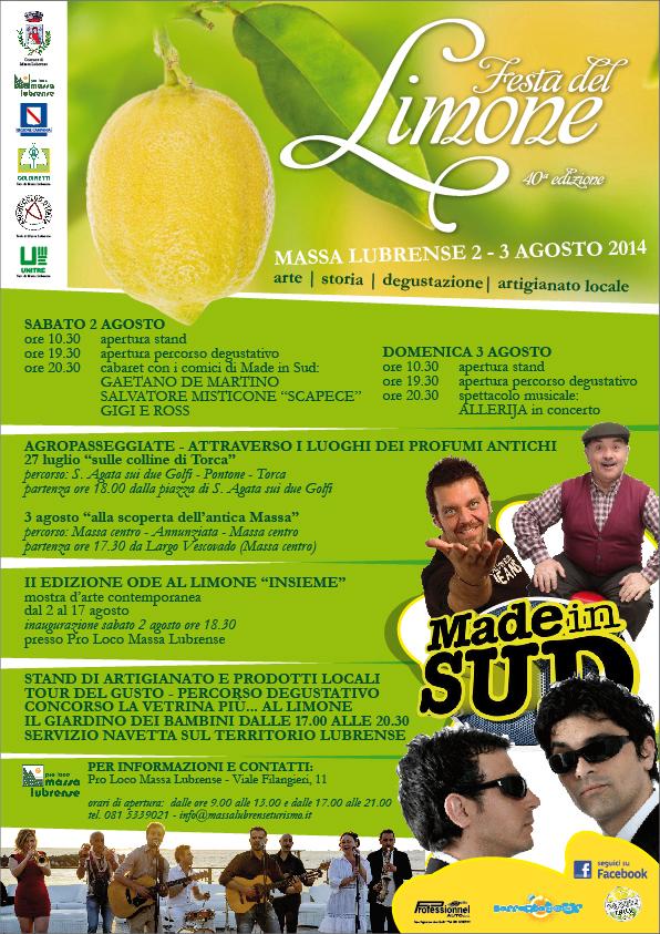 Festa del Limone 2014 - Massa Lubrense