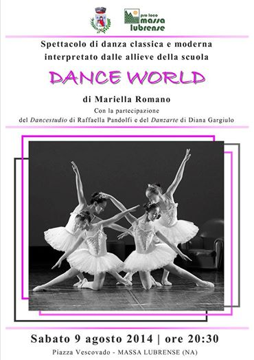 dance world mariella romano