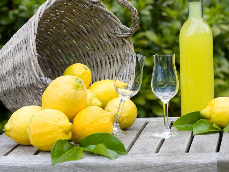 limone e limoncello massa lubrense