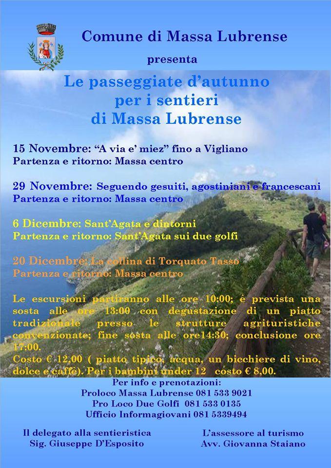Passeggiate d'autunno - Massa Lubrense 2015