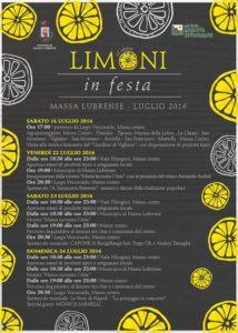 Limoni in festa sagra del limone massa lubrense 2016