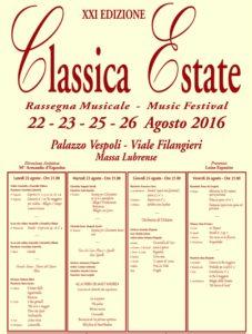 classica estate 2016 massa lubrense