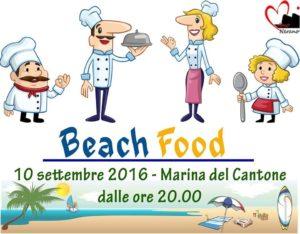 beach food marina del cantone 2016