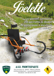trekking per disabili